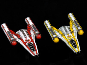 R2 & R5 Clone Wars inspired Y-wing 2-pack in Frosted Extreme Detail