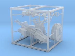 1/125 40mm Bofors Twin Mount SET in Smooth Fine Detail Plastic
