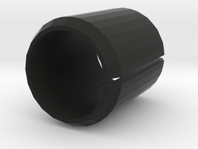 Port Cover 20mm in Black Natural Versatile Plastic