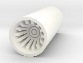 KR Top Plug 875 in White Processed Versatile Plastic