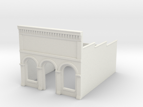 N-scale (1/160) Millie's Cafe Shell in White Strong & Flexible