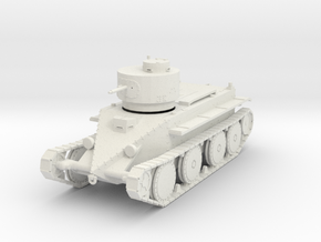 PV23A T1 Combat Car - Christie M1931 (28mm) in White Strong & Flexible