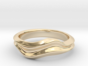 no.6 in 14K Yellow Gold: 5 / 49