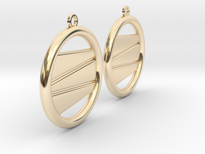 Earring GP Pair in 14k Gold Plated Brass