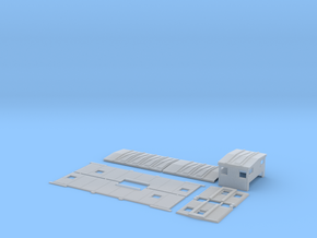 SSW 26-49 Caboose Body Kit, Bolted Windows in Smooth Fine Detail Plastic
