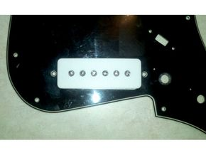 1802T Pickup Cover in White Natural Versatile Plastic