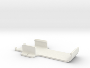 Intel Compute Stick Cradle in White Natural Versatile Plastic