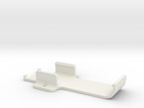 Intel Compute Stick Cradle in White Natural Versatile Plastic