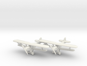 Hawker Trainer (two airplanes set) 1/285 6mm in White Natural Versatile Plastic