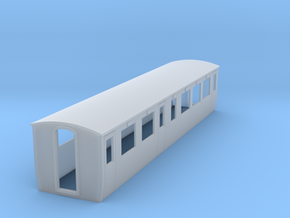OO9 Modern composite coach  in Smooth Fine Detail Plastic