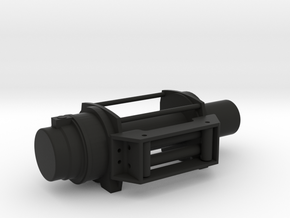 Offroad Winch - LEFT Version - 1/10 in Black Strong & Flexible