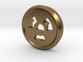 Trit Nuke Ring Part Slim in Natural Bronze