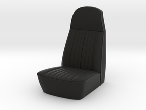 RCNS001 1/10 scale car seat  in Black Natural Versatile Plastic