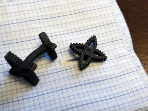 X-Gear Cufflinks in Stainless Steel