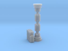 The Crazy Column Puzzle in Smooth Fine Detail Plastic