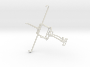 Controller mount for Xbox One & Allview P6 Lite in White Natural Versatile Plastic