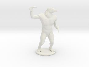 Hook Horror Miniature in White Natural Versatile Plastic: 1:60.96