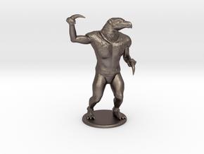 Hook Horror Miniature in Polished Bronzed Silver Steel: 1:60.96