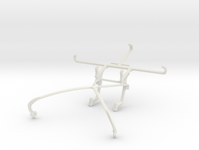 Controller mount for Shield 2015 & Intex Aqua GenX in White Natural Versatile Plastic