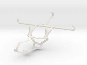 Controller mount for Steam & Intex Aqua GenX - Fro in White Natural Versatile Plastic