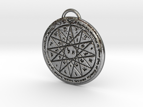 Fourth Pentacle of Mercury in Premium Silver
