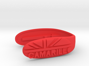 KEY FOB UNION CAMARILLO  in Red Processed Versatile Plastic