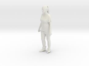 Printle C Femme 092 - 1/24 - wob in White Natural Versatile Plastic