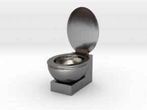 Loo in Polished Silver