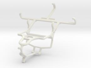 Controller mount for PS4 & Plum Axe Plus 2 in White Natural Versatile Plastic