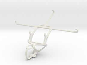 Controller mount for PS3 & Posh Equal Pro LTE L700 in White Natural Versatile Plastic