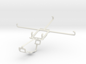Controller mount for Xbox One & Posh Equal Pro LTE in White Natural Versatile Plastic