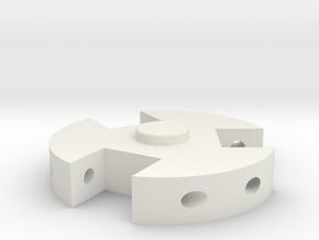 TK Grappling Hook Top in White Natural Versatile Plastic
