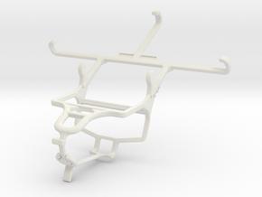 Controller mount for PS4 & Posh Kick X511 in White Natural Versatile Plastic