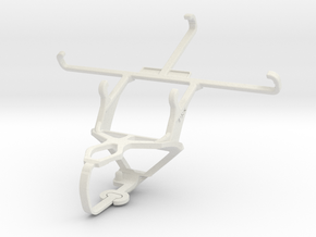 Controller mount for PS3 & Posh Ultra 5.0 LTE L500 in White Natural Versatile Plastic