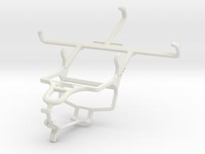 Controller mount for PS4 & Posh Volt LTE L540 in White Natural Versatile Plastic
