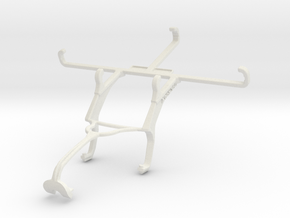 Controller mount for Xbox 360 & QMobile Linq L15 in White Natural Versatile Plastic