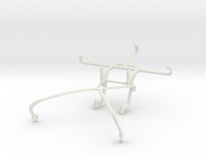 Controller mount for Shield 2015 & QMobile Noir S1 in White Natural Versatile Plastic