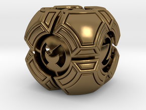Testudo D6 in Polished Bronze