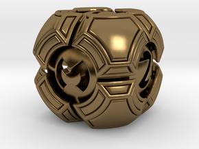Testudo D6 in Polished Bronze