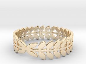 Laurel Ring (size 4-13) in 14K Yellow Gold: 4 / 46.5