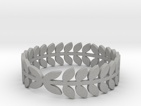 Laurel Ring (size 4-13) in Aluminum: 4 / 46.5
