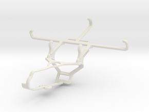 Controller mount for Steam & Unnecto Bolt - Front in White Natural Versatile Plastic