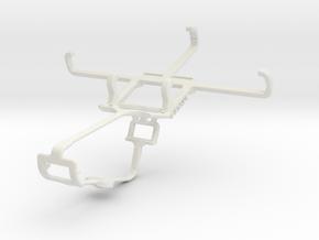 Controller mount for Xbox One & Unnecto Quattro S in White Natural Versatile Plastic