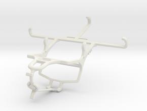 Controller mount for PS4 & Xiaomi Redmi 4 Prime in White Natural Versatile Plastic