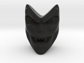 D&D Venger Evil Laugh Face in Black Natural Versatile Plastic