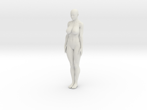 Wireframe mechanism Woman 20cm in White Strong & Flexible: Medium