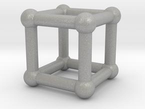 590 Cube V&E (a=10mm) #002 in Aluminum