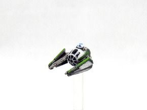 Modified ETA-2 Jedi starfighter in Frosted Extreme Detail