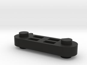 Displayholder in Black Natural Versatile Plastic