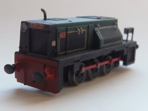 *REDUCED* 009 Talyllyn Railway No 9 Ex-NCB Hunslet in Smooth Fine Detail Plastic